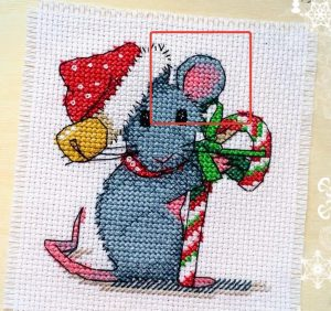 What is blended thread? Cross stitch tutorial for beginners