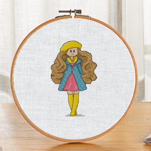 "Small Cross Stitch Printable PDF Pattern ""Rhianna Doll"" Etsy"