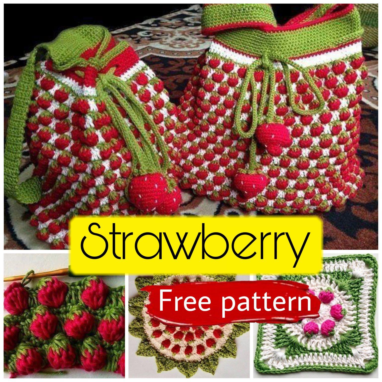 Free crochet pattern like strawberry