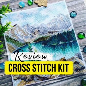 """""""Lake Moraine"""" by Oven Cross Stitch Starter Kit Review"""
