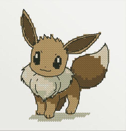"""Fantasy Fox"" - Free Cross Stitch Pattern Printable Animals"